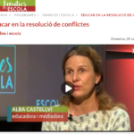 Alba Castellvi en el programa Famílies i Escola